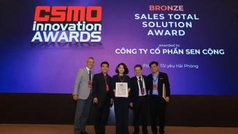 Senplus nhận giải thưởng CSMO Innovation Awards 2019