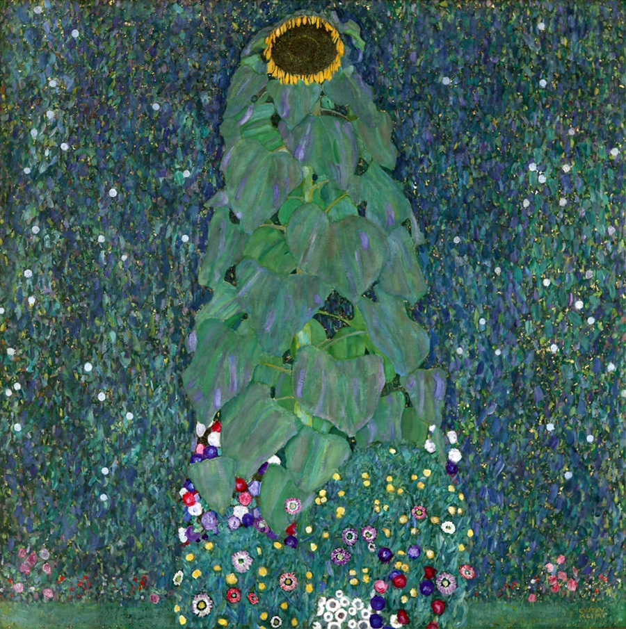 Tranh Hoa Hướng dương, Gustave Klimt, 1907